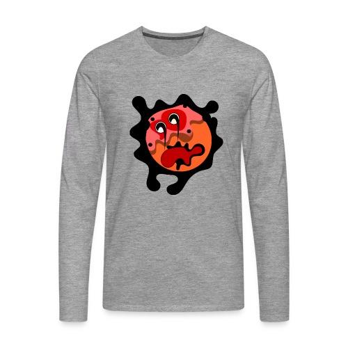 scary cartoon - Mannen Premium shirt met lange mouwen