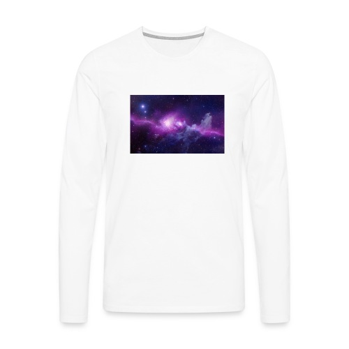 tshirt galaxy - T-shirt manches longues Premium Homme