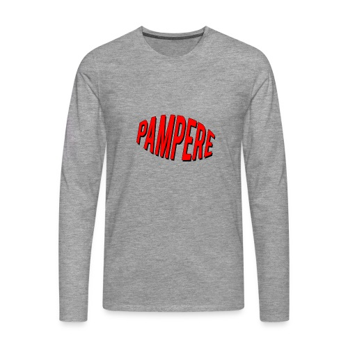 pampere - Koszulka męska Premium z długim rękawem