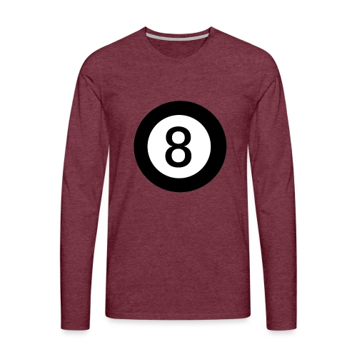 Black 8 - Men's Premium Longsleeve Shirt