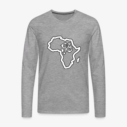 afrika pictogram - Mannen Premium shirt met lange mouwen