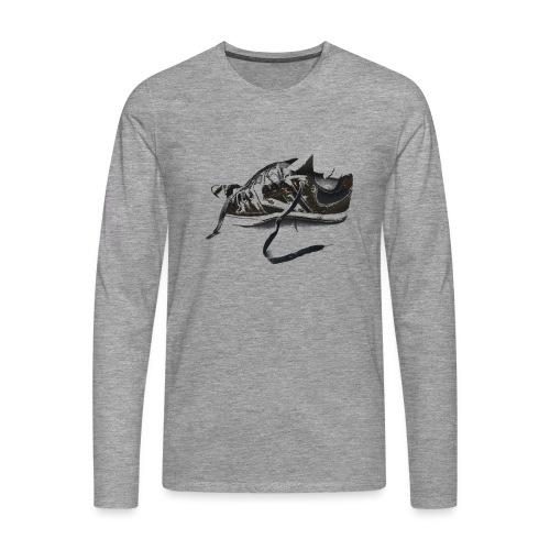 shoe (Saw) - Men's Premium Longsleeve Shirt