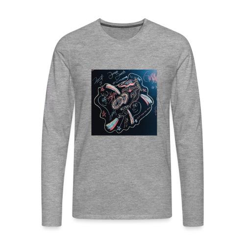 CD9 CARTEL - Camiseta de manga larga premium hombre