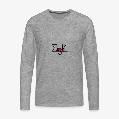EIGHT LOGO - T-shirt manches longues Premium Homme
