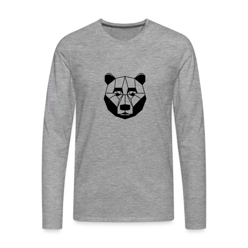 ours - T-shirt manches longues Premium Homme