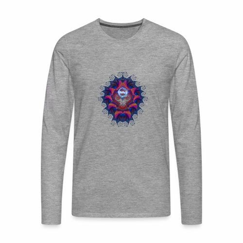 Alien Skull - whtwzrd - Miesten premium pitkähihainen t-paita