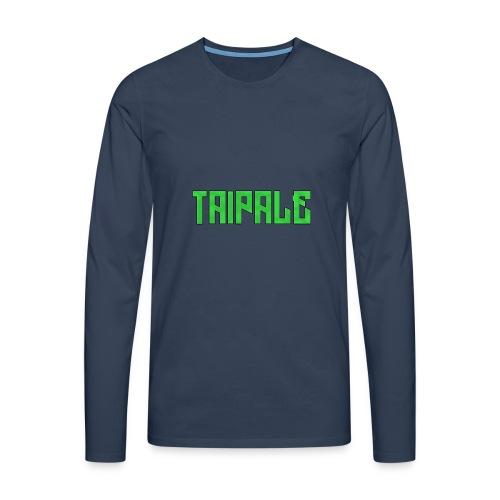 Taipale - Miesten premium pitkähihainen t-paita