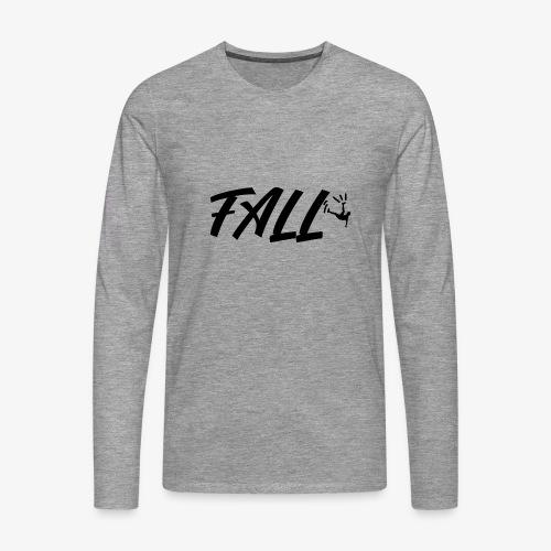 fall design - T-shirt manches longues Premium Homme