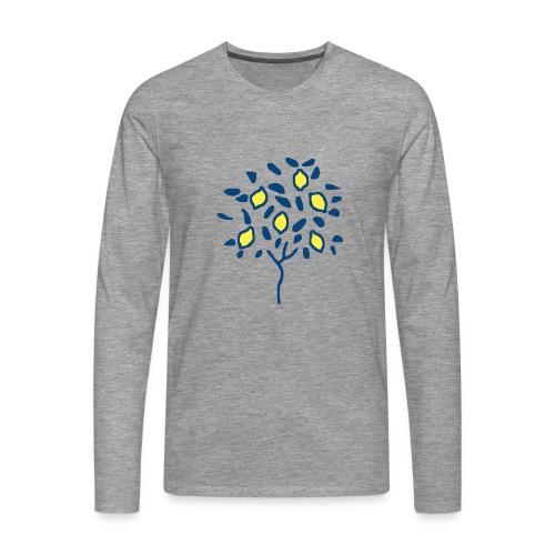 Citron - T-shirt manches longues Premium Homme