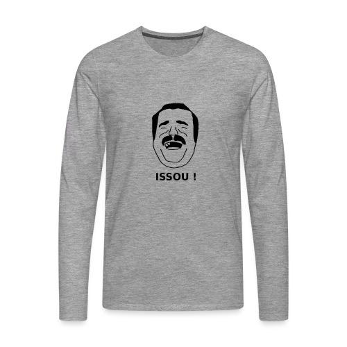 issou noir - T-shirt manches longues Premium Homme