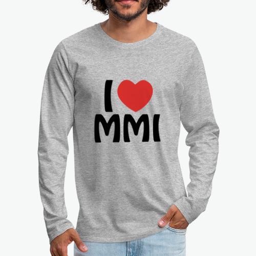I love MMI - T-shirt manches longues Premium Homme