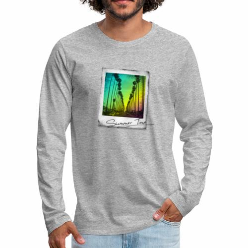 Summer Time - Men's Premium Longsleeve Shirt