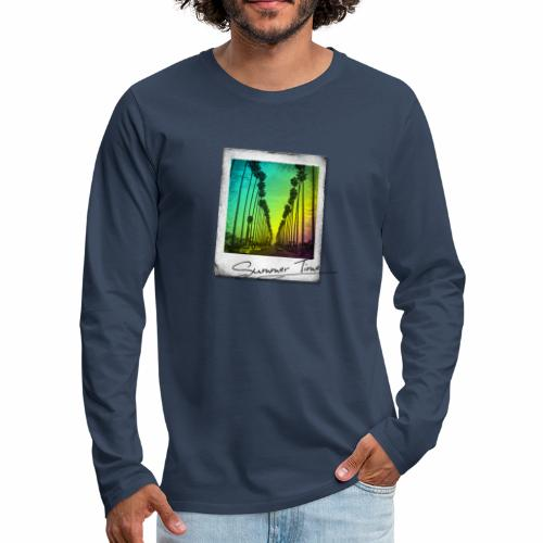 Summer Time - Men's Premium Longsleeve Shirt