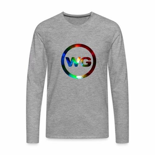 wout games - Mannen Premium shirt met lange mouwen