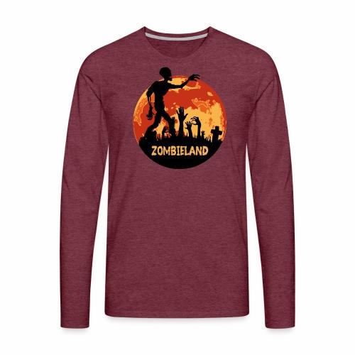 Zombieland Halloween Design - Männer Premium Langarmshirt