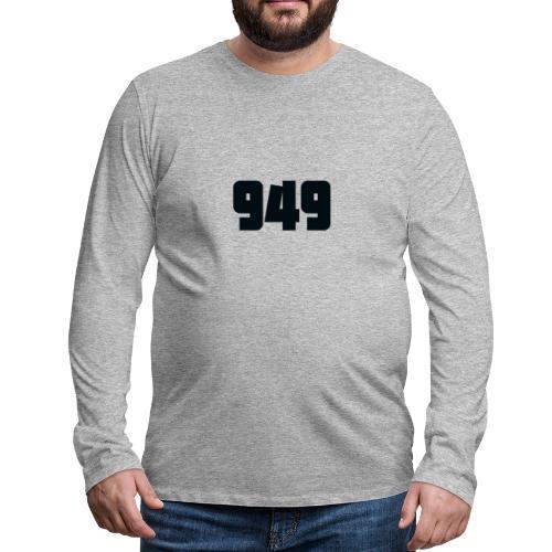 949black - Männer Premium Langarmshirt