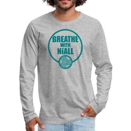 Breath with Niall Tshirt - Men's Premium Longsleeve Shirt
