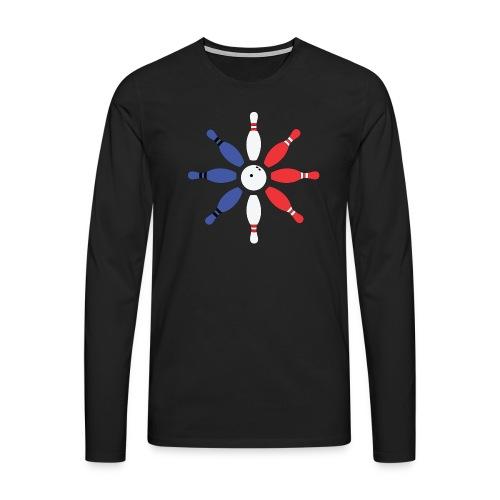 Roue de Quilles - T-shirt manches longues Premium Homme