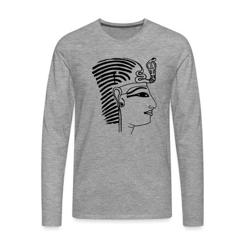 Pharao SethosI Ägypten - Männer Premium Langarmshirt