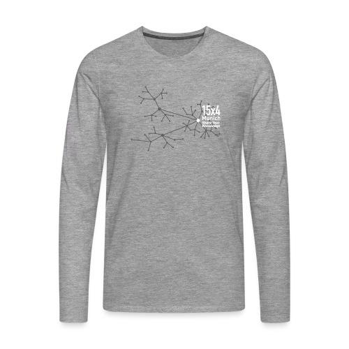 Neurons - Männer Premium Langarmshirt