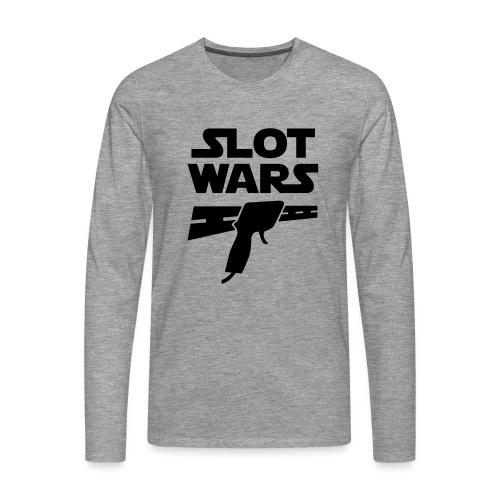 Slot Wars - Männer Premium Langarmshirt