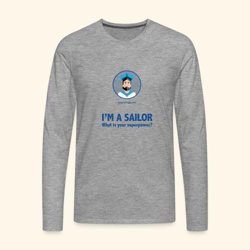 SeaProof Superpower - Männer Premium Langarmshirt
