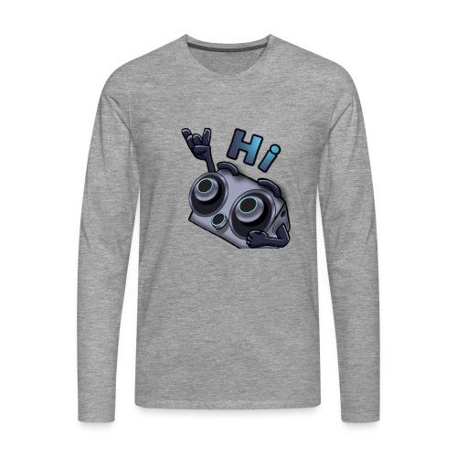 The DTS51 emote1 - Mannen Premium shirt met lange mouwen