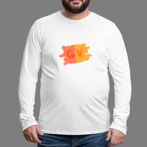 GekkeVincent - Mannen Premium shirt met lange mouwen