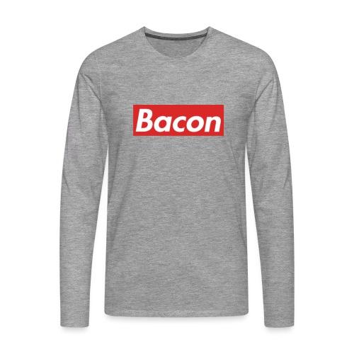 Bacon - Långärmad premium-T-shirt herr