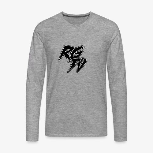 RGTV LOGO - Men's Premium Longsleeve Shirt