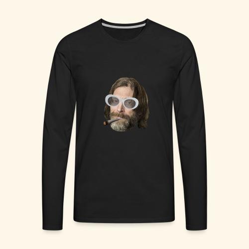 Ola Conny: Turnt Up Collection - Långärmad premium-T-shirt herr