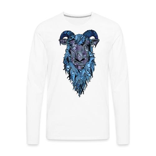 Sau - Premium langermet T-skjorte for menn