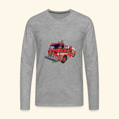 Red Fire Engine - Men's Premium Longsleeve Shirt