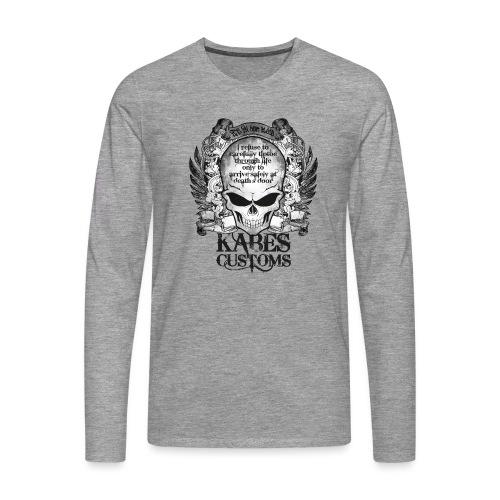 Kabes Tiptoe T-Shirt - Men's Premium Longsleeve Shirt