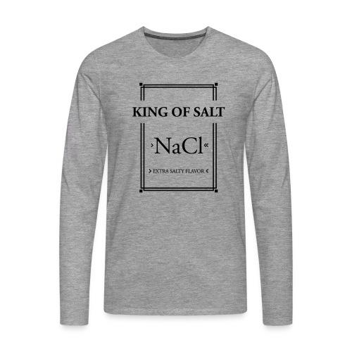 King of Salt - Männer Premium Langarmshirt