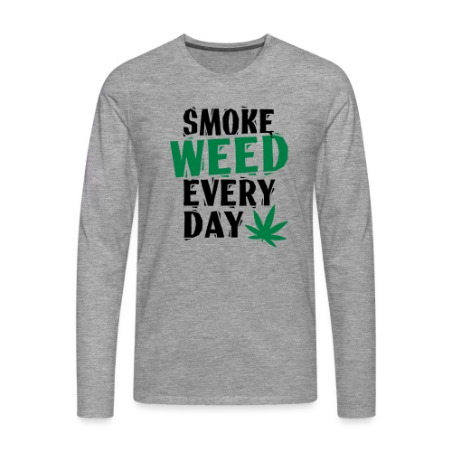 Smoke Weed Everyday Linovert - T-shirt manches longues Premium Homme