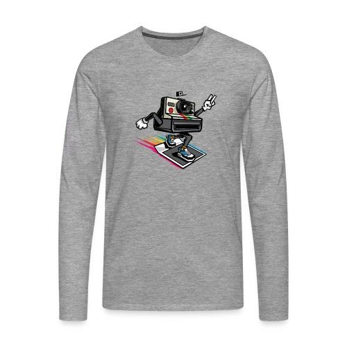 Appareil Polaroid 1000 - T-shirt manches longues Premium Homme