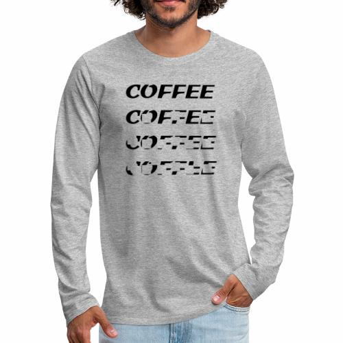 Café noir - Men's Premium Longsleeve Shirt