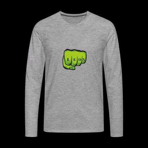 Leon Fist Merchandise - Men's Premium Longsleeve Shirt