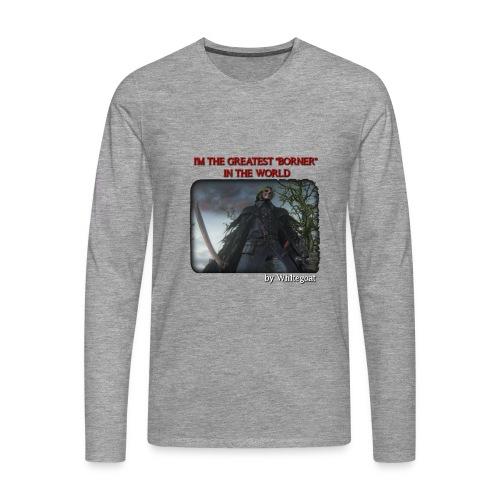 BERTOLDO SHIRT CROP png - Maglietta Premium a manica lunga da uomo
