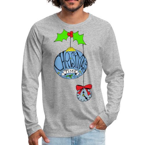 Christmas Time - Männer Premium Langarmshirt