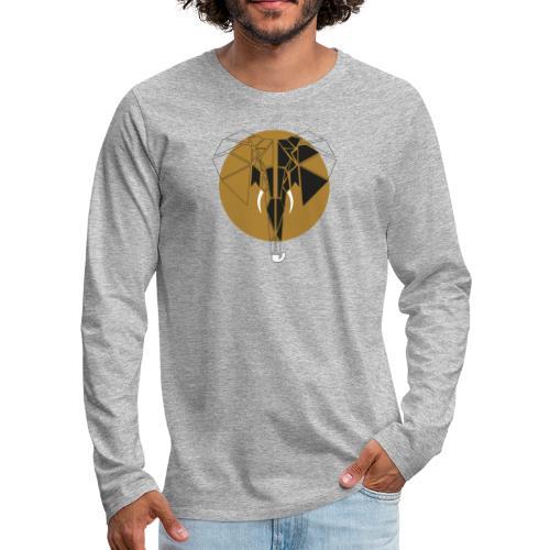 Amaro - Camiseta de manga larga premium hombre