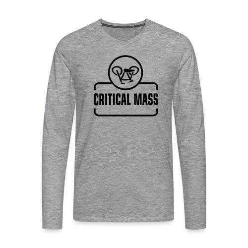 critical mass - Männer Premium Langarmshirt