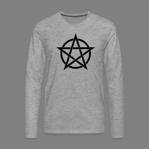 pentagramm - Männer Premium Langarmshirt