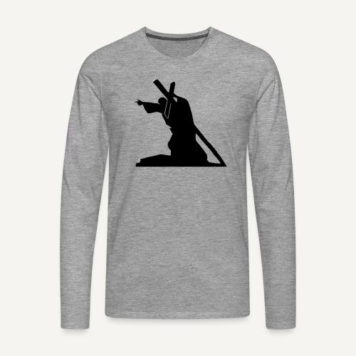 Sursum corda 3 - Koszulka męska Premium z długim rękawem