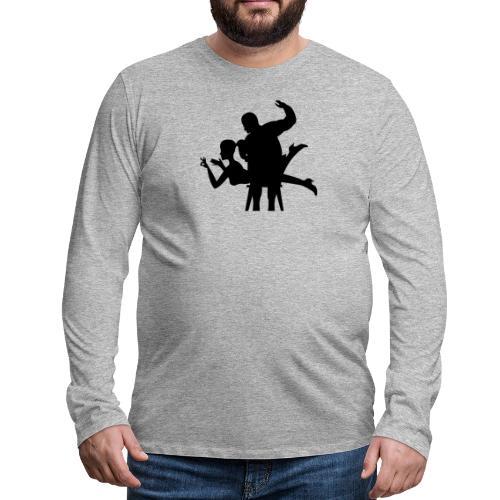 spanking - Männer Premium Langarmshirt