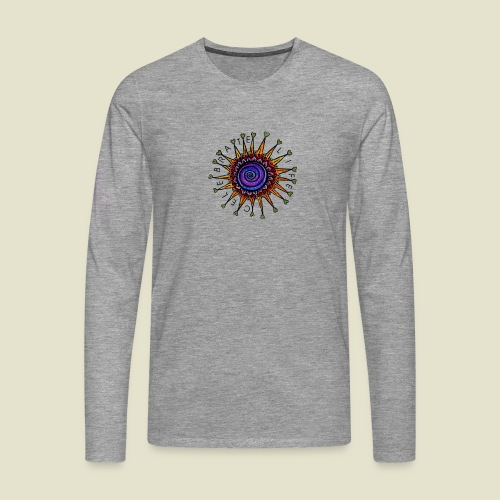 Celebrate Life Mandala - Männer Premium Langarmshirt