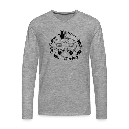 Norwegenliebe - Männer Premium Langarmshirt