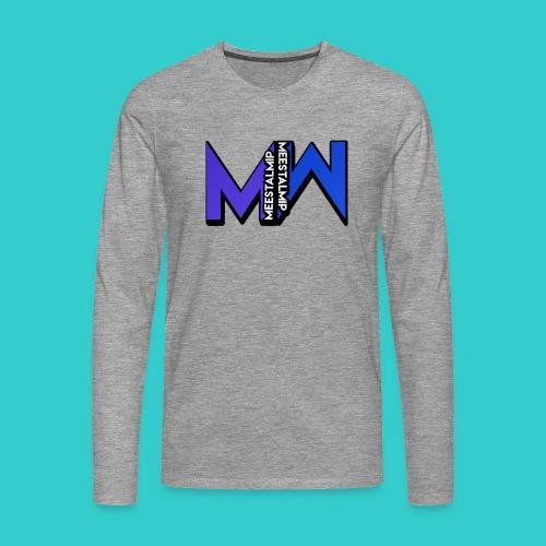 MeestalMip Shirt met lange mouwen - Kids & Babies - Mannen Premium shirt met lange mouwen