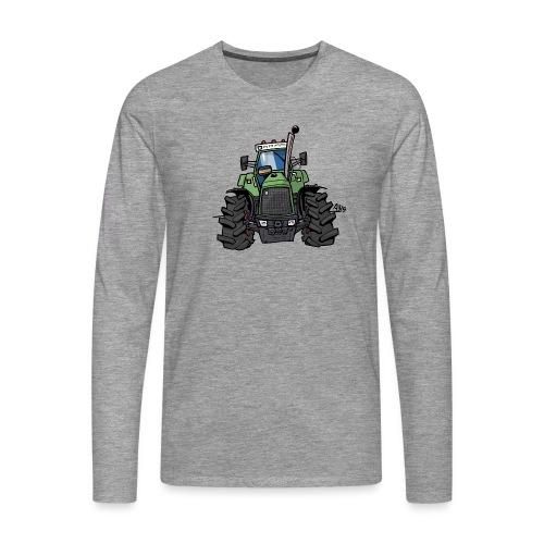 0145 F - Mannen Premium shirt met lange mouwen
